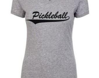 Women's Pickleball Shirt//Pickball// Pickleball TShirt//Pickleball Shirt// Pickle Ball T-shirt