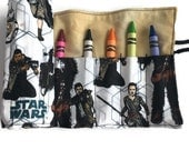Star Wars: The Force Awakens Crayon Roll - gold