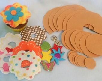 Felt Cupcake Kit