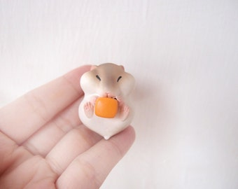 Sweet Miniature hamster necklace