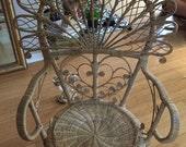 Peacock chair  Bohemian  Glam