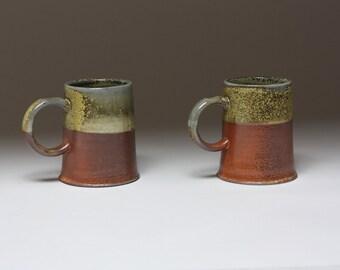 Turret Mugs, pair