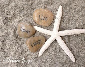 Live Love Laugh  Photography, Ocean Photography, Beach Photo