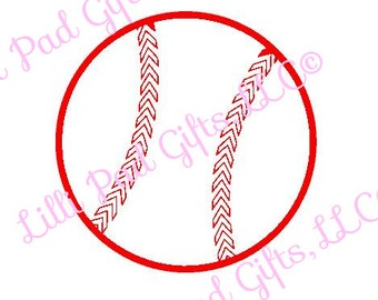 Baseball Cut File - Instant Download - SVG Vector JPG for Cameo Silhouette Studio Software & other Cutter Machines
