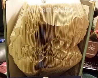 Florida gators (University of Florida) - Book Folding Pattern