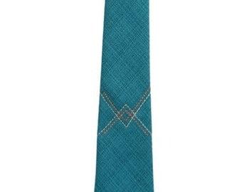 Frankie Four Handmade Teal Neck Tie