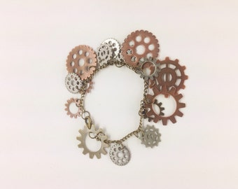 Mad Max Bracelet, burner bracelet, burning man jewelry, steam punk bracelet