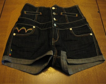 Coogi Highwaisted Button Fly Shorts