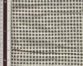 "Tiny Stylized Geometric Floral - Vintage - 32"" L X 35"" W - 100% Cotton Fabric"