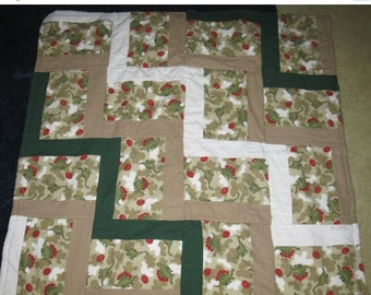 Summer Sale Dinosaurs, Dino Eggs and Camo Baby Boys Quilt / Blanket