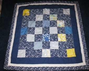 42 x 43 Crib or Lap Patchwork Quilt
