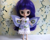 Flower Fairy Dress (Lilac & White)