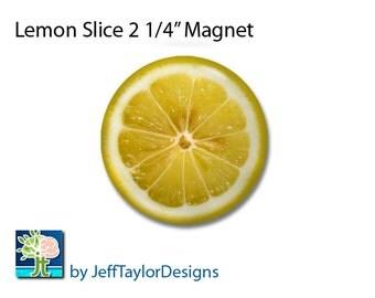 Lemon Slice Magnet