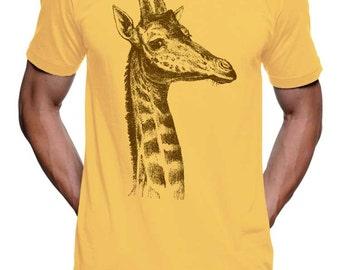 Giraffe T Shirt Giraffes on Shirts Giraffe Gift Ideas Gifts for Him Gifts for Her Kids Giraffe Shirt Zoo Shirt Funny Animal Tees Family Tee
