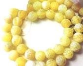64 AGATE Gemstone Beads 6mm - COD1463