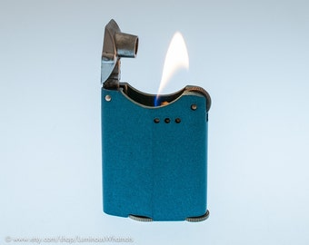 Working 1930s Warner Windproof Pocket Lighter - Made In California