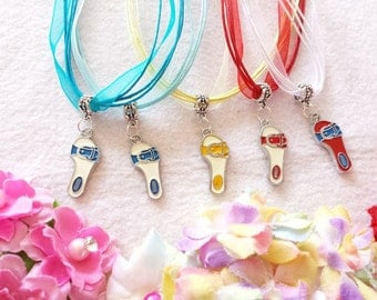 10 Flip Flop, Beach Party Necklaces Party Favors.
