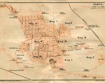 Articoli popolari per pompei su etsy for Planimetrie popolari