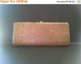 Now On Sale Vintage Sparkly Purse, Retro Glamour Girl Clutch, 1950's 1960's Collectible Handbag, Holiday Gift idea, Gift For Her, Mad Men Mo