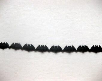 BATS Satin Backed Cut Out Ribbon