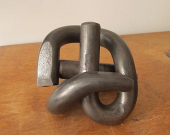 Knot sculpture/paperweight/bookend