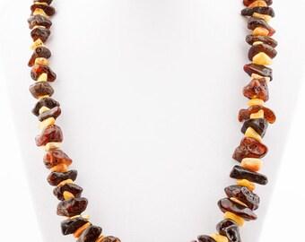 Baltic Amber Necklace Cognac Color
