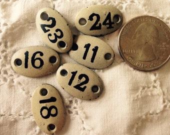 Numerical plates