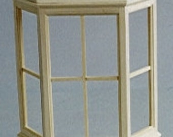Dolls House Miniature Bay Window With Roof