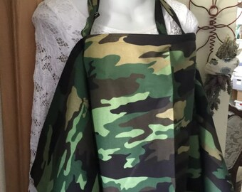 Breastfeeding nursing cover like hooter hider ready to ship new camo original  or more in my store choose fabric