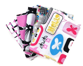 SALE FABRIC! Quilt Fabric Bundle, Moxie, Erin McMorris, Fabric Bundle, Half Yard Bundle, Fat Quarter Bundle, Fabric Sale