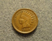 1896 Indian Head Cent- Full Liberty