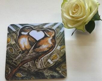 LOVEBIRDS teapot stand
