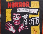 SALE Misfits Horror Show Sew On Patch
