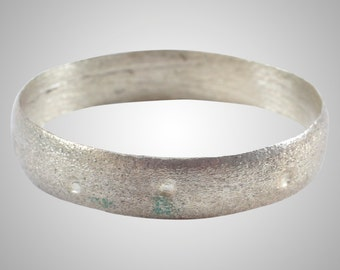 Authentic Ancient Viking  wedding Ring Band  Jewelry C.866-1067A.D. Size 11 1/4   (20.4mm)(Brr1112)