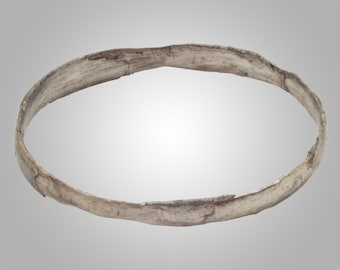 Authentic Ancient Viking  wedding Ring Band  C.866-1067A.D. Size 10 1/2   (19.9mm)(Brr60)