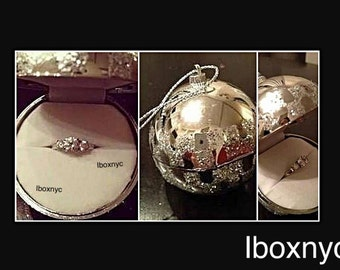 Ornament ring box  Etsy