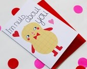 Valentines Card - Nuts About You