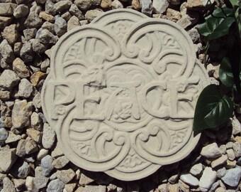 Peace Garden Stone, Inside, Outside