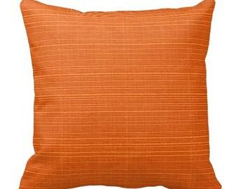 Big orange pillow Etsy