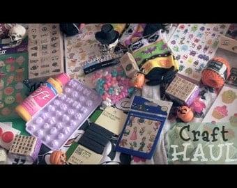 Mixed Media Grab Box Scrapbooking 5 Pounds Craft Bag Junk Journal Ephemera Drawer Collage Smash Book Altered Art Destash Paper Scrap Ribbons