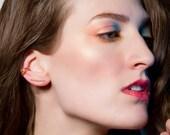 Minimalist Ear Cuff,  Non Pierced Ear Cuff,  Simple Ear Wrap, Adjustable Cuff Earring, 14k Gold Filled, Rose Gold, or Sterling Silver