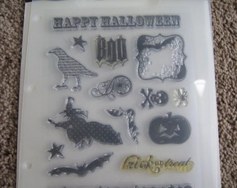 Halloween Clear Stamp Set - Making Memories