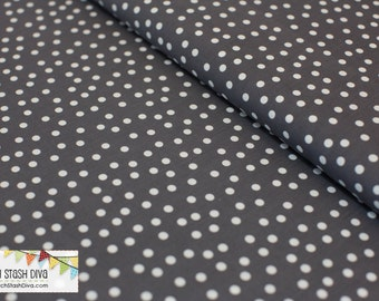 GREY REMIX DOTS From Robert Kaufman