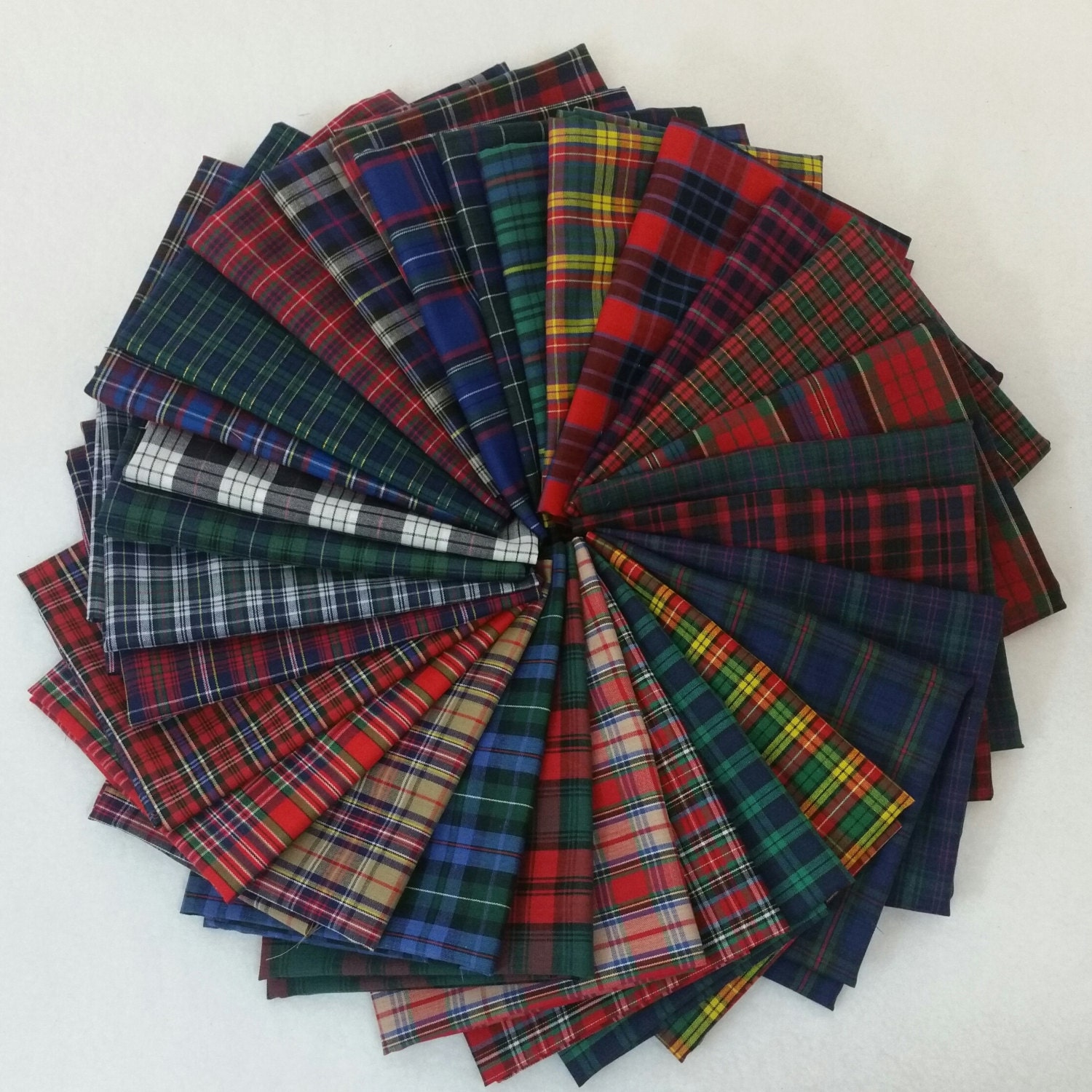26 half yards of tartan plaids fabric from stitchstashdiva. Black Bedroom Furniture Sets. Home Design Ideas