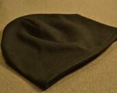 Fleece hat, black, winter hat