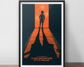 Close Encounters Movie Print - 12 x 18 inches