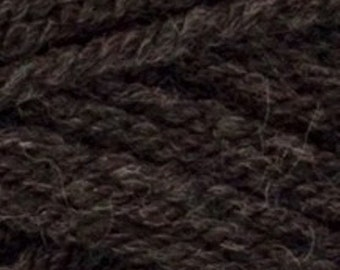 DY Choice Aran W/Wool Yarn - Worsted Weight - Wool/Acrylic Blend - 219 yds. per skein - Charcoal