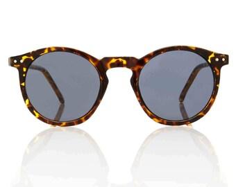 OMalley Round Tortoise Sunglasses - Smoke Lens Glasses X American Deadstock