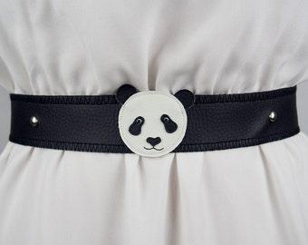 Panda Belt ~ Handmade ~ Only 1 Left!