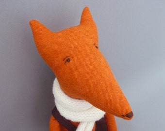 Foxy SALE!! Esteban 89 Fox Plush Softie Puppet